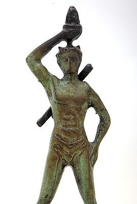 Ancient Greek Bronze Museum Statue Replica Colossus Rhodes 7 Wonders Collectable 5