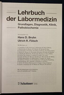 Bruhn/Fölsch Lehrbuch der Labormedizin 1999 Medizin Wissen Studium Grundlagen sf 2