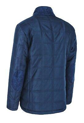 Giacca giubbotto uomo blu invernale casual elegante slim fit nuovo con gilet interno