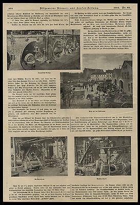 Historisches Dokument von 1904 Die Aktien-Bierbrauerei zu Essen an der Ruhr 3