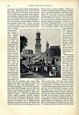 H.v.Gehlen Ägypten Aus dem Lande der Pharaonen El Kantara Kairo Giseh Karnak1904 5