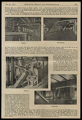 Historisches Dokument von 1904 Die Aktien-Bierbrauerei zu Essen an der Ruhr 4