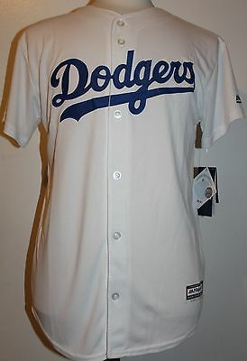 366c7522 ... Los Angeles Dodgers Clayton Kershaw #22 Cool Base YOUTH Majestic Jersey  - White 2