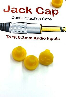 Korg M3 JACKCAP full set x12 Dust Plug Caps Audio In//Out Jack Protection Cover