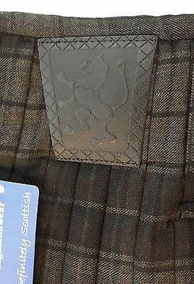 Grey Highlander 8Yd  Kilt Only Ex Hire £99 A1 Condition Large Stock But Hurry 5