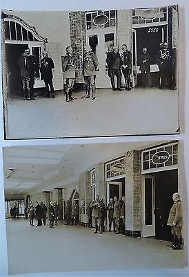 RARE Orig Photo LOT WWI German Soldier Hindenburg 1916 Ludendorff Kaiser Wilhelm 10