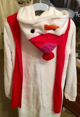 BNWT Snowman All-In-One Onezzie-Size 8-Fancy Dress Olaf Frozen Costume 11
