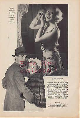 Werbung 1937, Bildnis Portrait Fotografie Eiskunstlauf Sonia Häseken Henie 3
