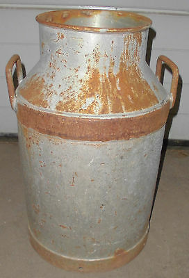 milch kanne milchkanne  BMV rottweil alt behälter top garten  deko zum bemalen 4