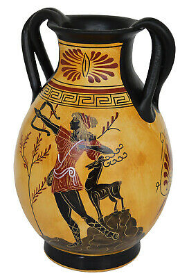 Goddess Aphrodite - Apollo - Artemis Diana Goddess of Animals Amphora Vase 3