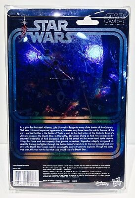 1 Clear Protector For CELEBRATION LUKE X-WING STAR WARS 40TH Display Case Box 4