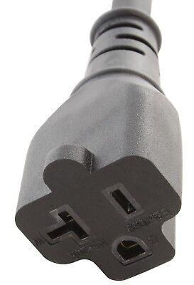 Household electrical adapter NEMA 5-15P male to NEMA 5-20R female adapter 1 DOL
