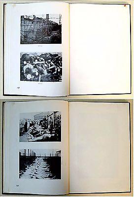 1946 Palestine HOLOCAUST Atrocities JEWISH PHOTO BOOK Israel JUDAICA Hebrew RARE 7