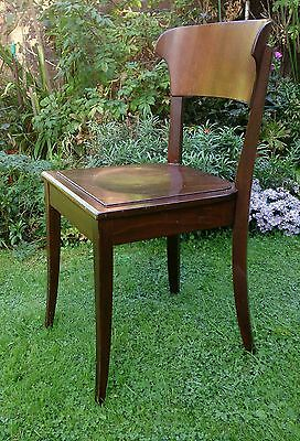 Richard RIEMERSCHMID Hellerau Chair Deutscher Werkstatten Art Nouveau Jugendstil 4