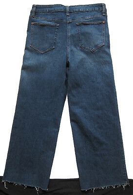 New Womens Blue Crop Ankle Wide Leg NEXT Jeans Size 16 14 12 10 6 RRP £28 7