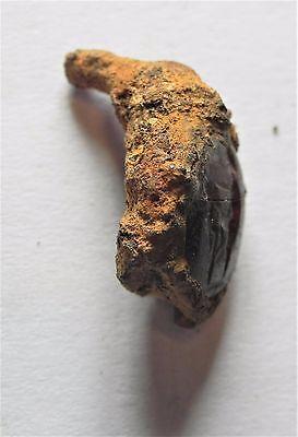 Zurqieh -  Ancient Jordan. Roman Carnelian Intaglio. 200 - 300 A.d 2