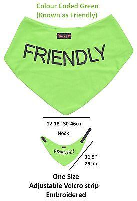 Dog Bandana Best Quality Price Personalised Message Neck Scarf Fashion Accessory 2