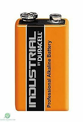 100 Duracell Industrial 9V PP3 MN1604 Block Professional Performance Batteries 2