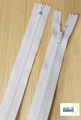 Reißverschluss Kopfkissen Bettwäsche schließbare Länge 90 cm hellbeige