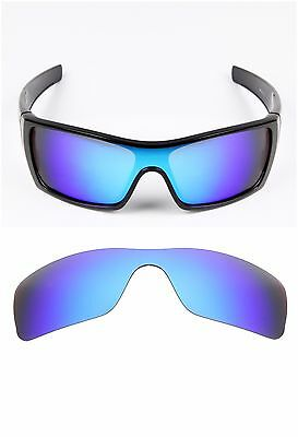 4c74eeb76c7 ... New Polarized Replacement lenses for-Oakley Batwolf Sunglasses ice blue  2