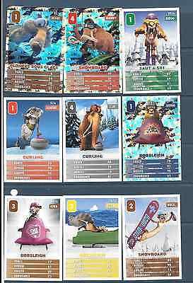 Carte Kingdom Hearts lot de 3 cartes Traverse Town différentes !!!