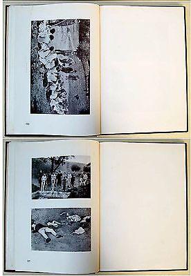 1946 Palestine HOLOCAUST Atrocities JEWISH PHOTO BOOK Israel JUDAICA Hebrew RARE 9