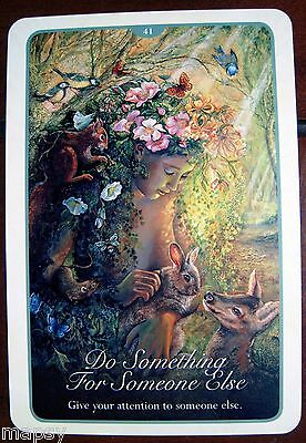 NEW Whispers of Love Oracle Cards Tarot Angela Hartfield Josephine Wall psychic 12