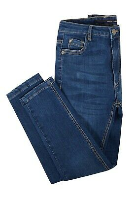 NEW Boys Kids Stretch Jeans Denim Skinny FIT Pants Trousers Age 7-13 Years BLUE 8