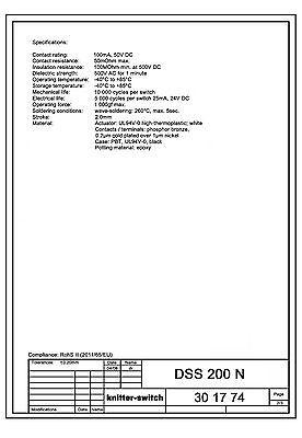 Schiebeschalter Knitter DSS201, Arduino, Atmel, AVR, Modellbau, Industrie 5