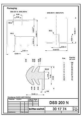 Schiebeschalter Knitter DSS201, Arduino, Atmel, AVR, Modellbau, Industrie 6