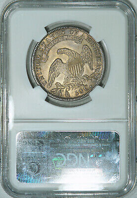 1834 NGC MS64 Bust Half, lustrous strongly struck piece w/ very nice eye appeal 2