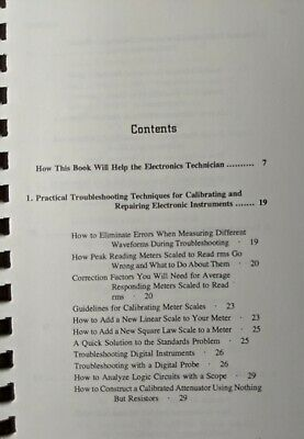 Workbench Guide to Electronic Troubleshooting Paperback 4