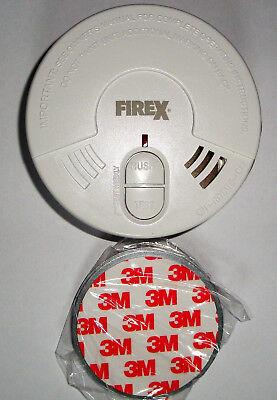 6X Kidde FireX Rauchmelder mit 5 Jahresbatterie (austauschbar) und Magnethalter 2