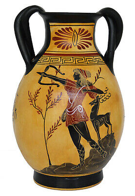 Goddess Aphrodite - Apollo - Artemis Diana Goddess of Animals Amphora Vase 2