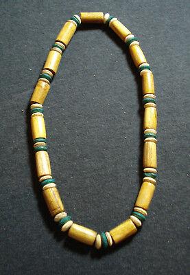 a basso prezzo 794c0 88895 STOCK 5 COLLANE legno cocco elastiche etnico tribale uomo donna ...