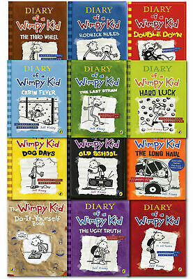Diary of a Wimpy Kid Collection 12 Books Set Pack by Jeff Kinney-The Long Haul 2