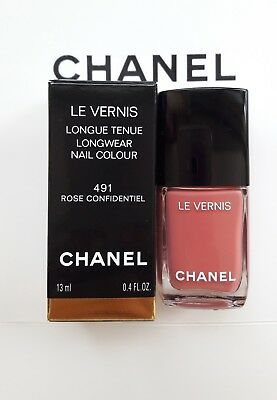 CHANEL LE VERNIS LongWear Nail Colour Nail Polish 491 ROSE ...