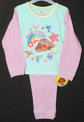 HEY DUGGEE Pyjamas/ Girls Official PJs in a choice of 2 styles 18 Months-5 Years 10