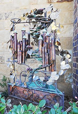 Extreme Offer!!! C. Jere Orig. 5' Tall Huge Castle Copper/brass Water Fountain 4