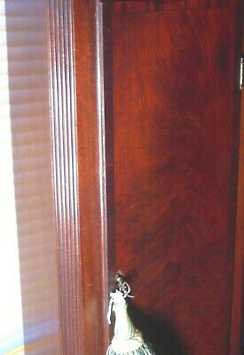 "Antique   Mahogany  ""  Wotton ""  8 Day   Grandfather / Longcase Clock 3"