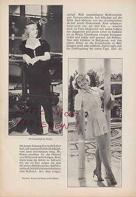 Werbung 1937, Bildnis Portrait Fotografie Eiskunstlauf Sonia Häseken Henie 4
