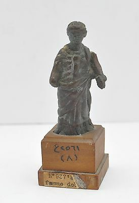 "Ancient Aphrodite Bronze Female 2.55"" Figure 1St/2Nd Century Ad 8"