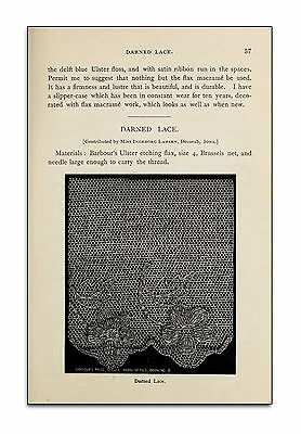 Rare Books on DVD - Antique Lace Making Patterns Designs - Collecting Fabric F0 3