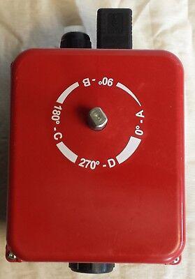 Attuatore rotante elettrico - Burkert 225211 - funzionante 6