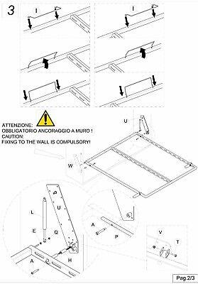 Maly_Letto Ribaltabile/Salvaspazio/A Muro/A Scomparsa - In Tutte Le Misure 6