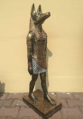 Anubis XL 55 cm große ägyptische Figur Statue Ägypten 90140