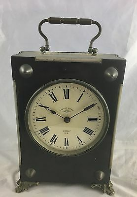 Antique French Black Carriage  Clock By Duverdrey & Bloquel 5