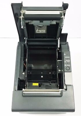 USED Epson TM-T88IV M129H Thermal POS Receipt ETHERNET Printer 880D-BLK-L