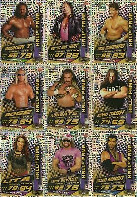 2019 WWE Slam Attax UNIVERSE - Champions & Hall of Fame cards: Buy 3 get 1 FREE 2