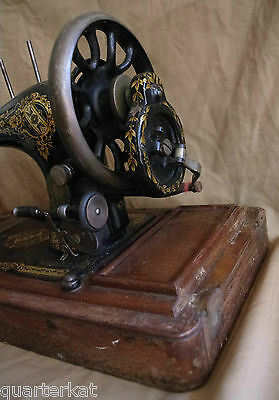 Singer Sewing Machines Antiques Vintage 1903 Hand Crank 9